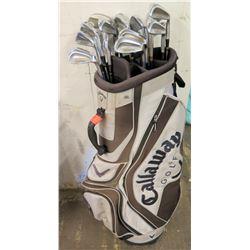 Callaway Golf Bag w/ Golf Clubs (MacGregor, Tourney, Callaway, etc.)