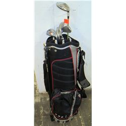Orlimar Golf Bag w/ Golf Clubs (Ovation, etc.)