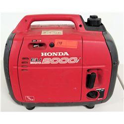 Honda EU 2000i Portable Generator, 120V, DC 12V
