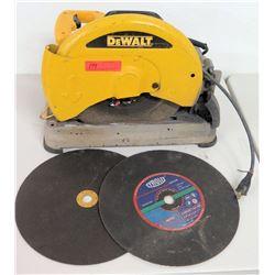 """DeWalt D28715 14"""" Chop Saw w/ 2 Extra Blades"""