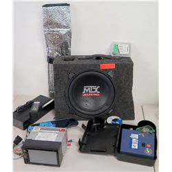 MTX Audio Speaker, Sony Personal Audio System SRS-X7, etc