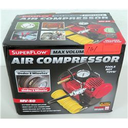 SuperFlow MV-50 Portable Air Compressor w/ Box