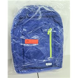 Incase Blue Nylon Backpack