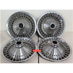 Qty 4 Car Tire Rims - Spoke Design