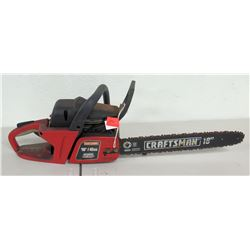 "Craftsman 18"" 40cc Sim-Pul Chain Saw Chainsaw"