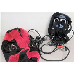 Scuba Dive Gear: Halcyon DIR Dive System, Apek 1 Regulators, Dive Bag