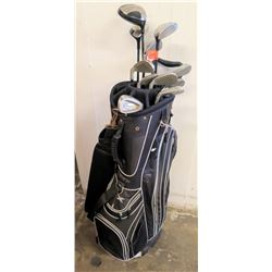 Golf Bag w/  Golf Clubs (KZG, Navehawk, etc.)