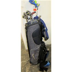 Nike Golf Bag w/ Golf Clubs (Nike, Method Matter, etc.)