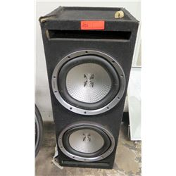 Xplod 2000W Two-Speaker Box Speakers