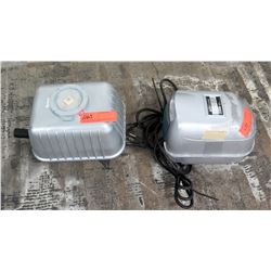 Qty 2 Electric Pondmaster Air Pumps for Water, AP-60 120V