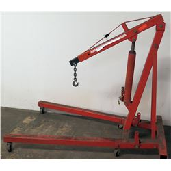8-Ton Long Ram Jack Hydraulic Engine Hoist