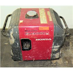 Honda EU 3000i Portable Inverter Generator, DC 12V, A/C Out 120V