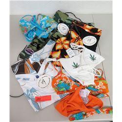 Misc Planet Surf North Shore Clothing - Hawaiian Print Bikinis & Swim Shorts