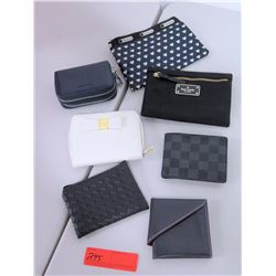 Qty 7 Misc. Wallets - Kate Spade, LeSportsac, etc.