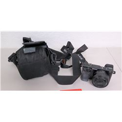 Sony CX6000 24 Megapixel Camera w/ Lens, Strap & Case