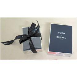 Qty 2 New Bleu de Chanel Paris Fragrance in Gift Boxes