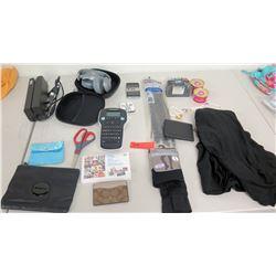 JBL Headphones, Coach Card Holder, Dymo Label Maker, etc.