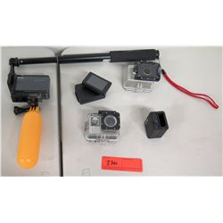 Sony, Go-Pro, Hero Waterproof Cameras
