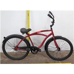 "Cranbrook 26"" MRoad Bike w/ Coaster Brakes, Red"