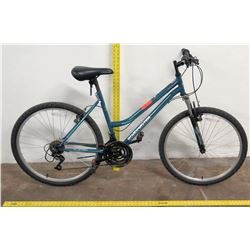 "Roadmaster 26"" Granite Peak 18-Speed Ladies Mountain Bike, Blue"