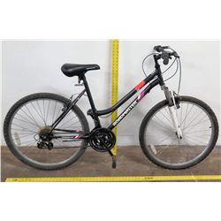 "Roadmaster 26"" W Granite Peak Ladies Mountain Bike,  Black"