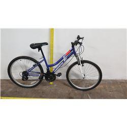 "Roadmaster 24"" Granite Peak Ladies Mountain Bike, Blue"