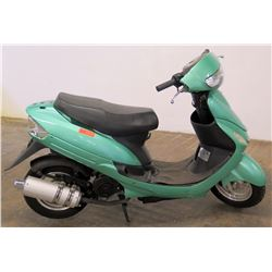 2016 Green Moped, Taizhou Zhongneng Motorcycle Co., 589 Miles