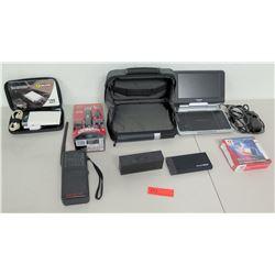 Panasonic DVD Player, Mobile AC Power, Hair Trimmer, Speaker, etc