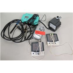 Active Aqua Air Pump, Hanna Portable Grow Check, 2 Eco Plus Monitors