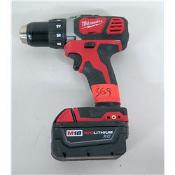 "Milwaukee 1/2"" Drill Driver M18, Lithium XC w/ Battery"