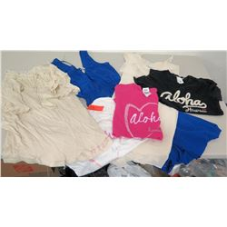 Misc Clothing - 3 New Aloha T-Shirts, Forever 21, etc.