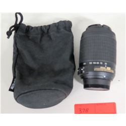 Nikon Nikkor 55-200mm Camera Lens ASF w/ Case