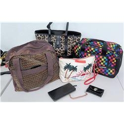 Da Kine Travel Bag, Leopard Print Tote, Pet Carrier, 2 Wallets, etc.