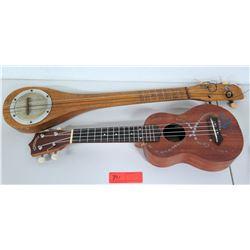 Leolani 4-String Ukulele & Stringed Instrument