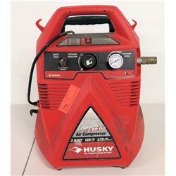 Husky Easy Air To Go Portable Air Compressor, 135 PSI 2.75 Gallon