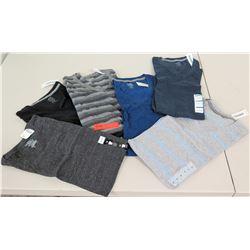 New Clothing: 6 T-Shirts - Old Navy, Alfani, etc (sz Med & Lrg)