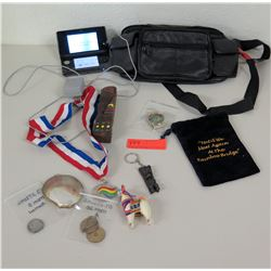 Leather Fanny Pack, Memorabilia, Mini-Computer, Keychain, etc