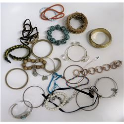 Misc Bracelets - Bangle, Wood, Bead, Pearl, Turquoise, etc