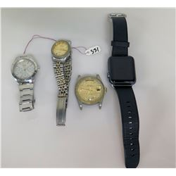 Qty 4 Watches - Apple Watch, etc.