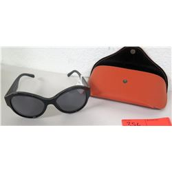 New Authentic Black Versace Designer Sunglasses, $260 Retail
