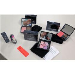 New Christian Dior Makeup - Full Size Eye Shadow Palette, 2 Blush, Lipstick