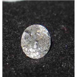 Loose White Diamond, Round Cut (see pictures for size)
