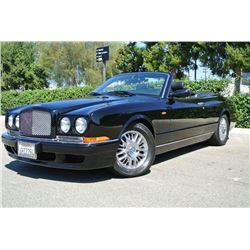 2001 Black Bentley Azure