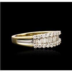 14KT Yellow Gold 1.20 ctw Diamond Ring