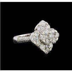 14KT White Gold 2.14 ctw Diamond Ring