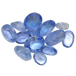 14 ctw Oval Mixed Tanzanite Parcel