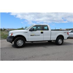 2012 Ford F-150 Truck -4x4 Crew Cab -60,665 Miles Lisc 422 HDV (Runs/Drives See Video)