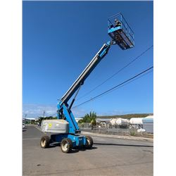 2005 Genie S-60 Boom Lift 4x4 Diesel, 4921 Hours (Runs,Drives,Lifts,See Video)