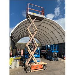 2012 JLG 1930ES Scissor Lift (Operates Forward Reverse Up & Down See Video)