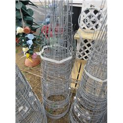 """LARGE QTY OF TOMATO CAGES 16"""" DIAM"""